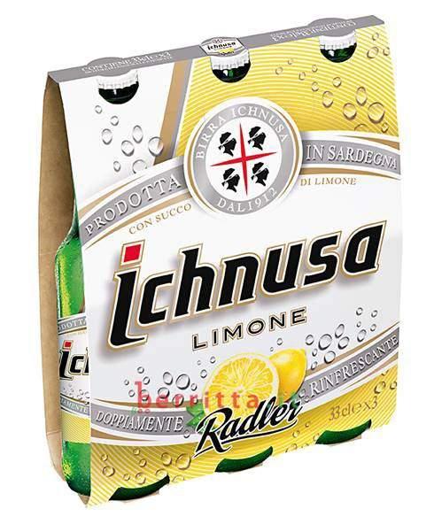 Birra ICHNUSA LIMONE RADLER CL.33X3