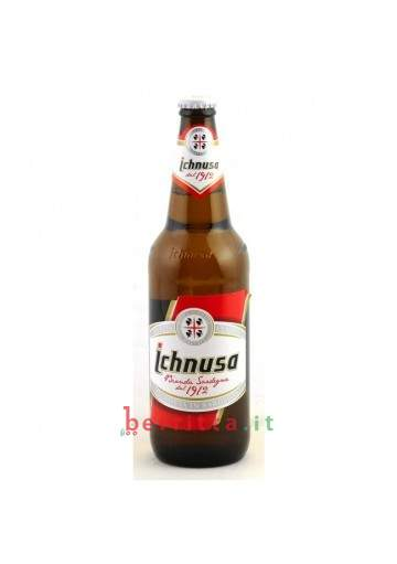 Birra ICHNUSA bottiglia, 66 cl