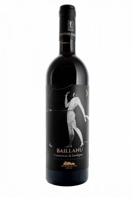 Cantina Berritta Dorgali, BAILLANU - Cannonau di Sardegna Doc 2016, 750 ml