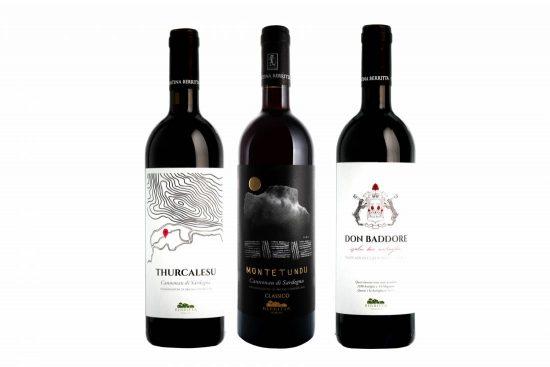Cantina Berritta-I grandi rossi, tre vini, COFANETTO IN OMAGGIO