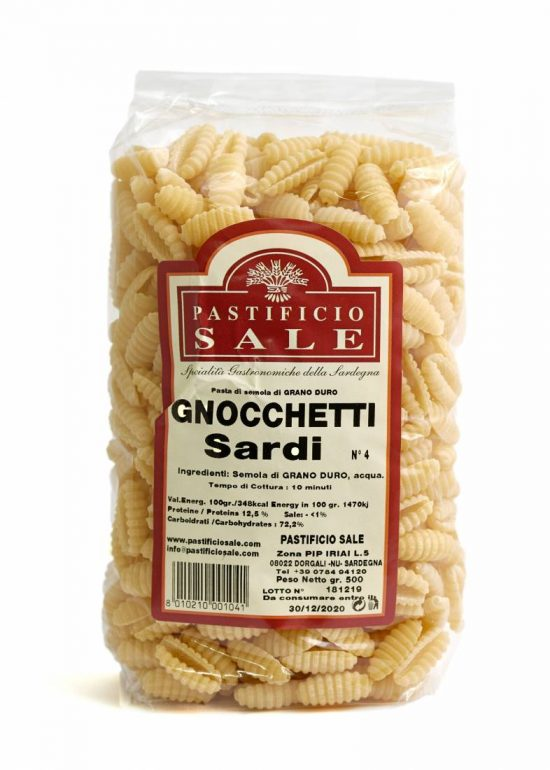 Pastificio Sale Gnocchetti Sardi N°4 500 gr
